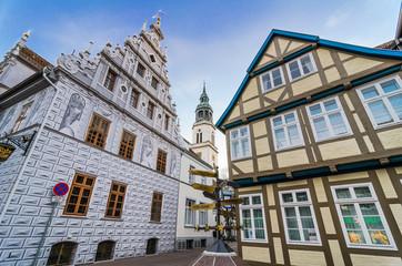 Das Alte Rathaus in Celle, Deutschland