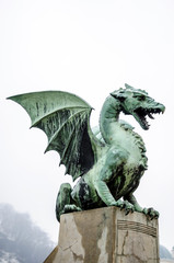 Green dragon of Ljubljana