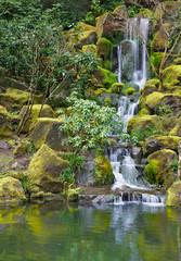 Long Garden Waterfall