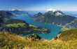 Lake in Switzerland - swiss alps