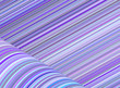 abstract purple blue cylinder curl shape backdrop