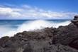 côte rocheuse sud sauvage, île de la Réunion