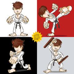Martial Art Karate