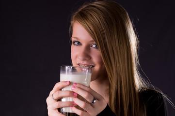 Milch ist so lecker