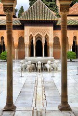 Patio of the Lions