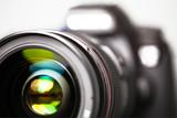 Digitale Spiegelreflex-Kamera - Vorderansicht