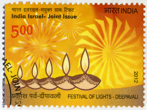 INDIA - 2012: shows Festival of Lights, Deepavali