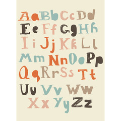 latin alphabet lower and upper cases