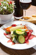 bresaola with vegetables