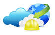 cloud computing issues under construction sign