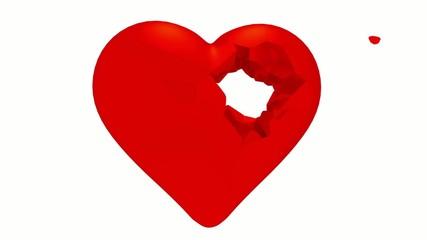 Pierced heart.