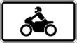 Nur Krafträder, auch mit Beiwagen, Kleinkrafträder und Mofas