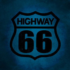 Symbol of Highway 66