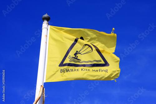 kitesurf flag