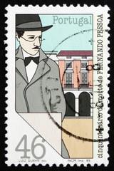 Postage stamp Portugal 1985 Fernando Pessoa, Poet