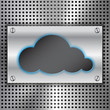 Abstract Cloud Computing concept background