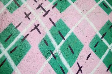 Street art graphiti background