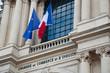Leinwanddruck Bild - Chambre de commerce et d'industrie à Paris