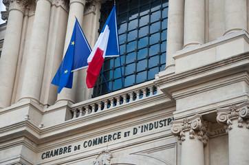 Chambre de commerce et d'industrie à Paris