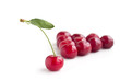 Group of cherry with different one