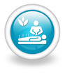 "Light Blue Icon ""Alternative Medicine"""