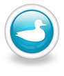 "Light Blue Icon ""Duck"""