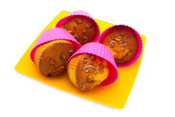 tasty walnut muffins