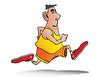 man jogging
