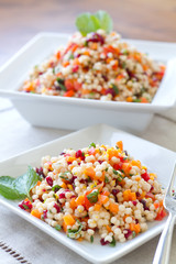 Couscous Salad - vertical
