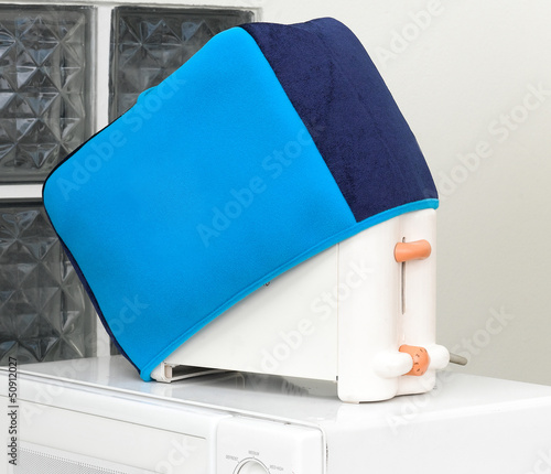 bread toaster with cover cloth for protect dust or dirty