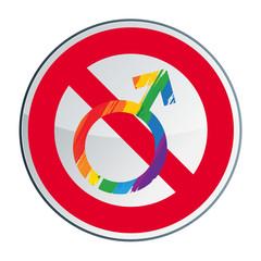 Non au mariage pour tous, gay et lesbien