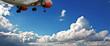 Fototapete Tourismus - Hobeln - Flugzeug