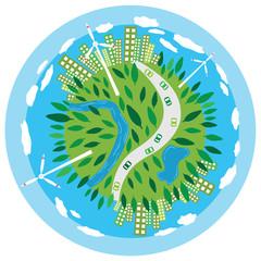 Sustainability Planet