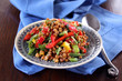 linsensalat mit paprika