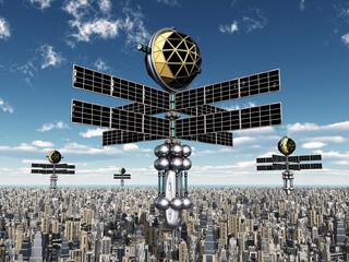 Raumsonden in der Erdatmosphäre