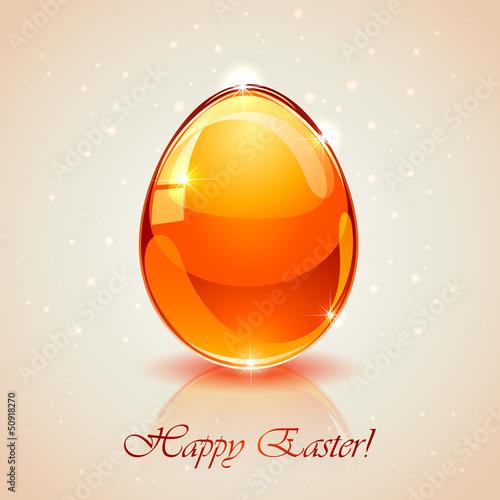 Glass Easter egg