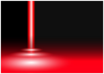 Roter Laser