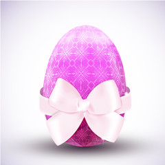 Happy easter egg icon