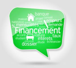 Bulle : Financement et Pictos