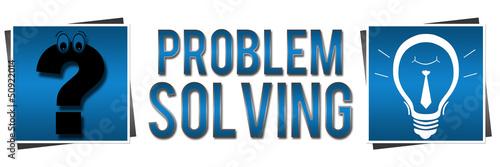 Problem Solving Blue Banner