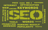SEO Keyword with background
