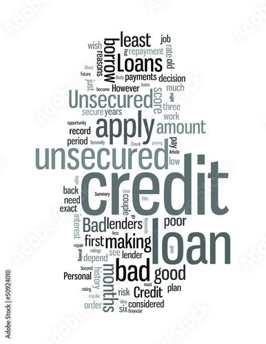 Bad Credit Unsecured Loans