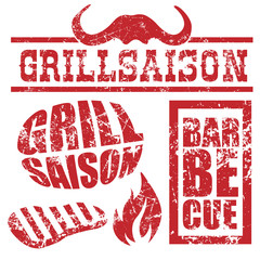 Grillsaison Barbeque Buttons