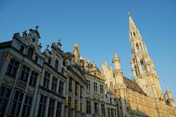 Grand Place mit Rathaus, Brüssel