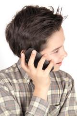 Ragazzo al telefono