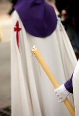 Nazareno durante una procesion