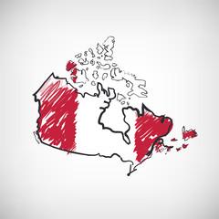 Kanada Skizze