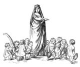 Working Children - Orphans - Orphelins poster