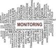 word cloud - monitoring