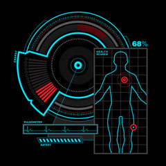 Health scanner interface